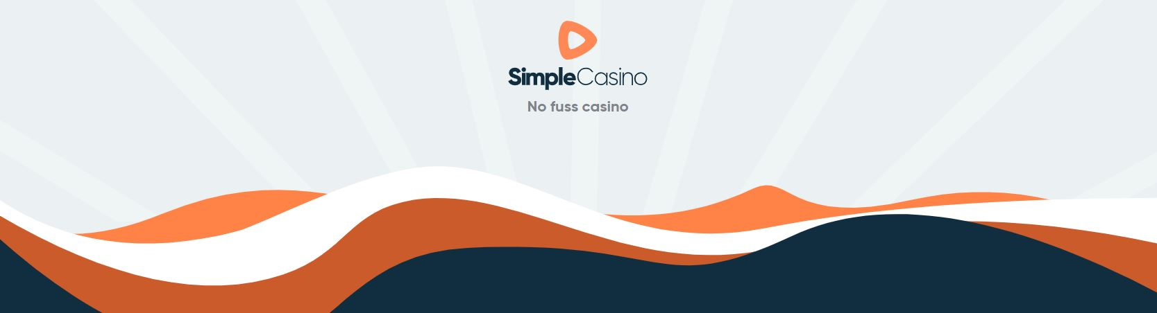 Picture of Simple casino´s landing page