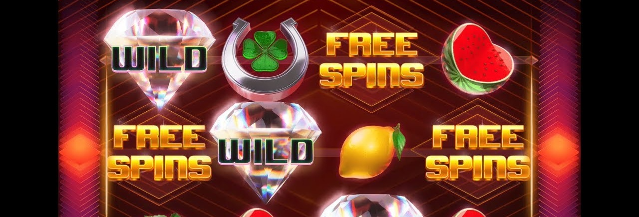 Picture of free spins in a slot game